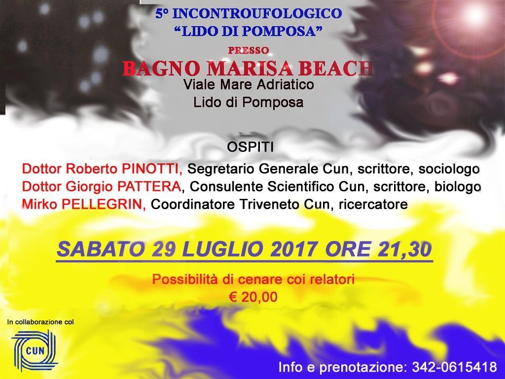 5° INCONTRO UFOLOGICO AL LIDO DI POMPOSA