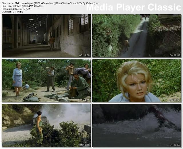 Nido de Avispas 1970 | pelicula | secuencias