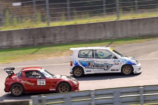 Suzuki Cappuccino & Alto Works, kei car, japoński, mały samochód z małym silnikiem, wyścigi, tor wyścigowy, sport, 0.7L