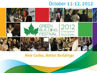 Toronto Green Building Festival 2012 at Evergreen Brick Works, October 11-12, 2012, screenshot