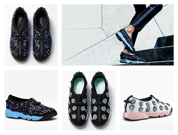 sneakers moda Dior runner tendencias
