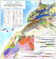 Carte Géologique du Maroc