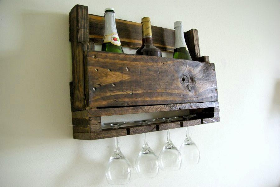 Muito Casa de ideias e decoração: Diy porta vinhos feito de pallet IG39