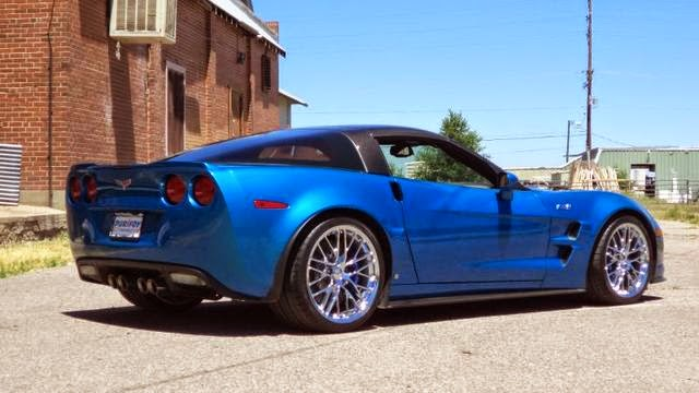 2009 Corvette ZR1 at Purifoy Chevrolet