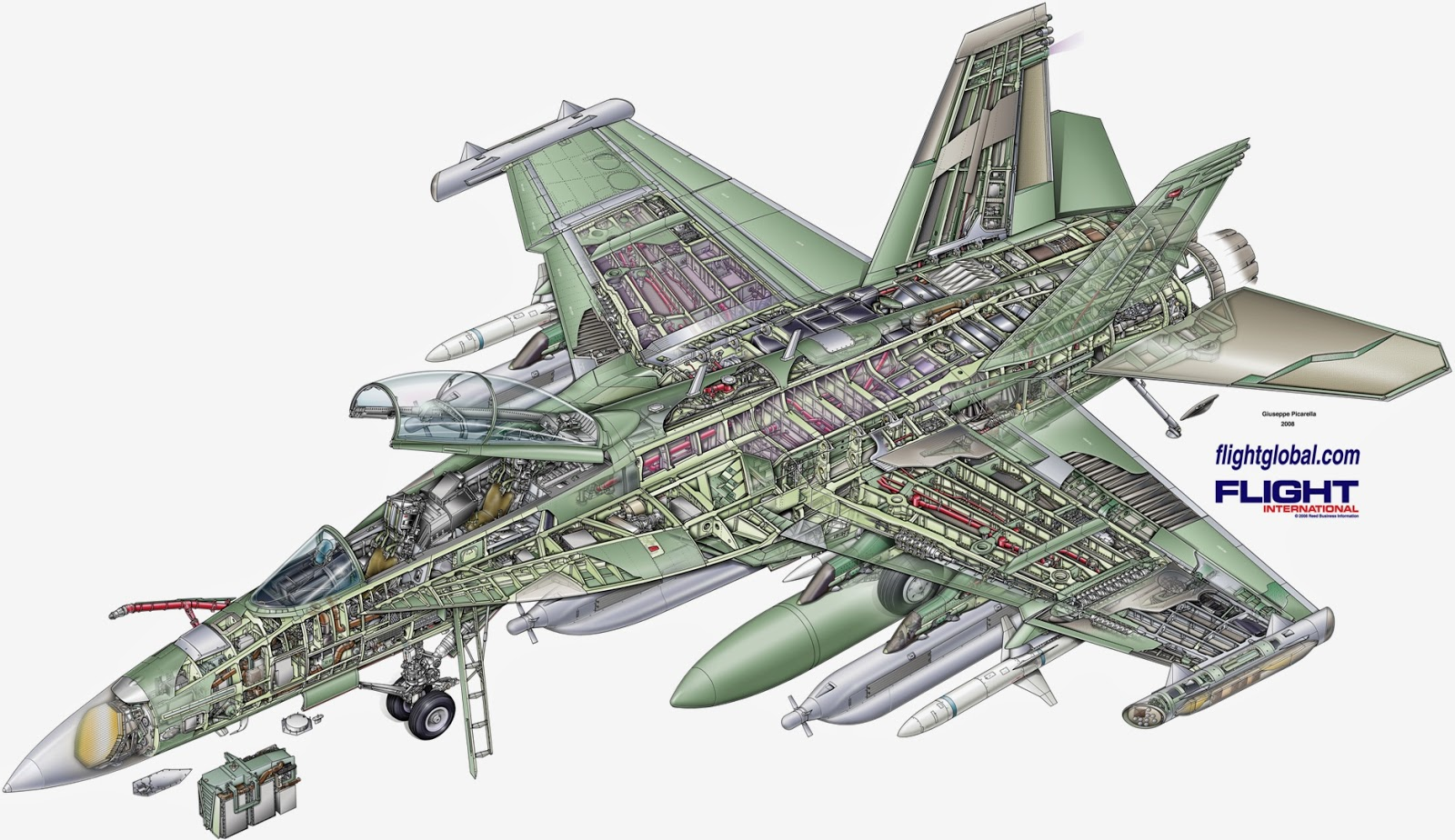 Boeing%2520EA 18G%2520Growler%2520cutaway%2520small best fighter for canada fighter jet fight club rafale versus super