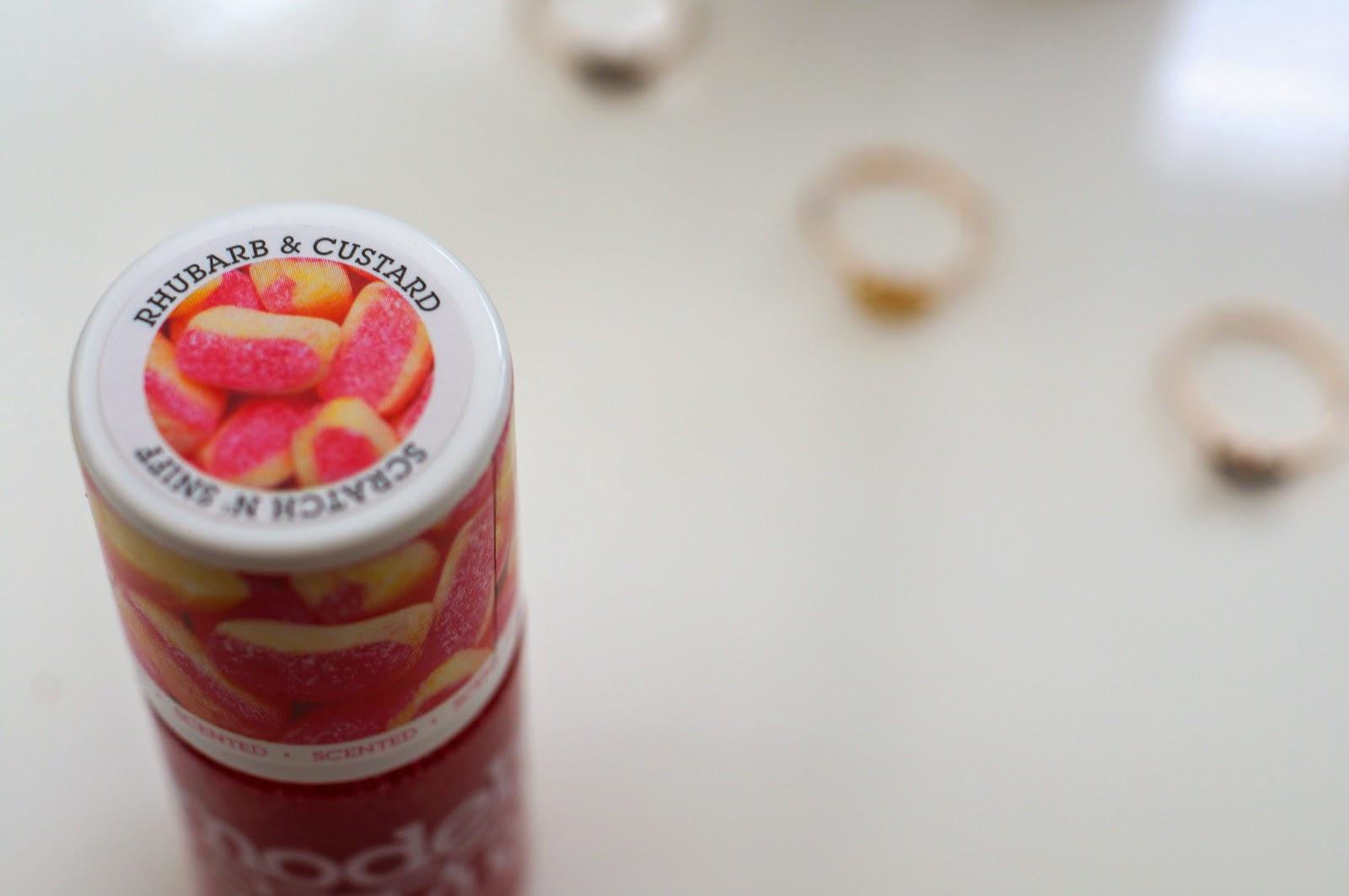 rhubarb and custard models own