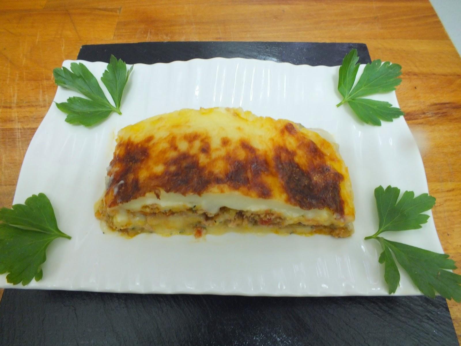 Escuela de cocina pako amor pastel de patatas carne - Escuela de cocina paco amor ...