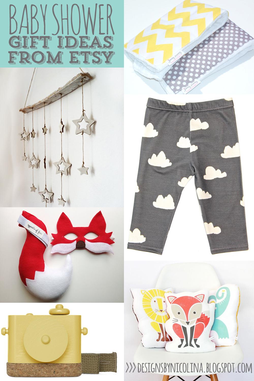 BABY SHOWER GIFT IDEAS /// ETSY PICKS