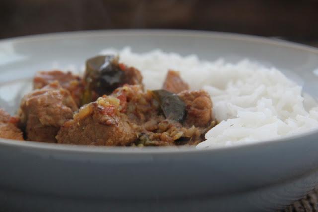 Keralan pork curry - curry z wieprzowiny
