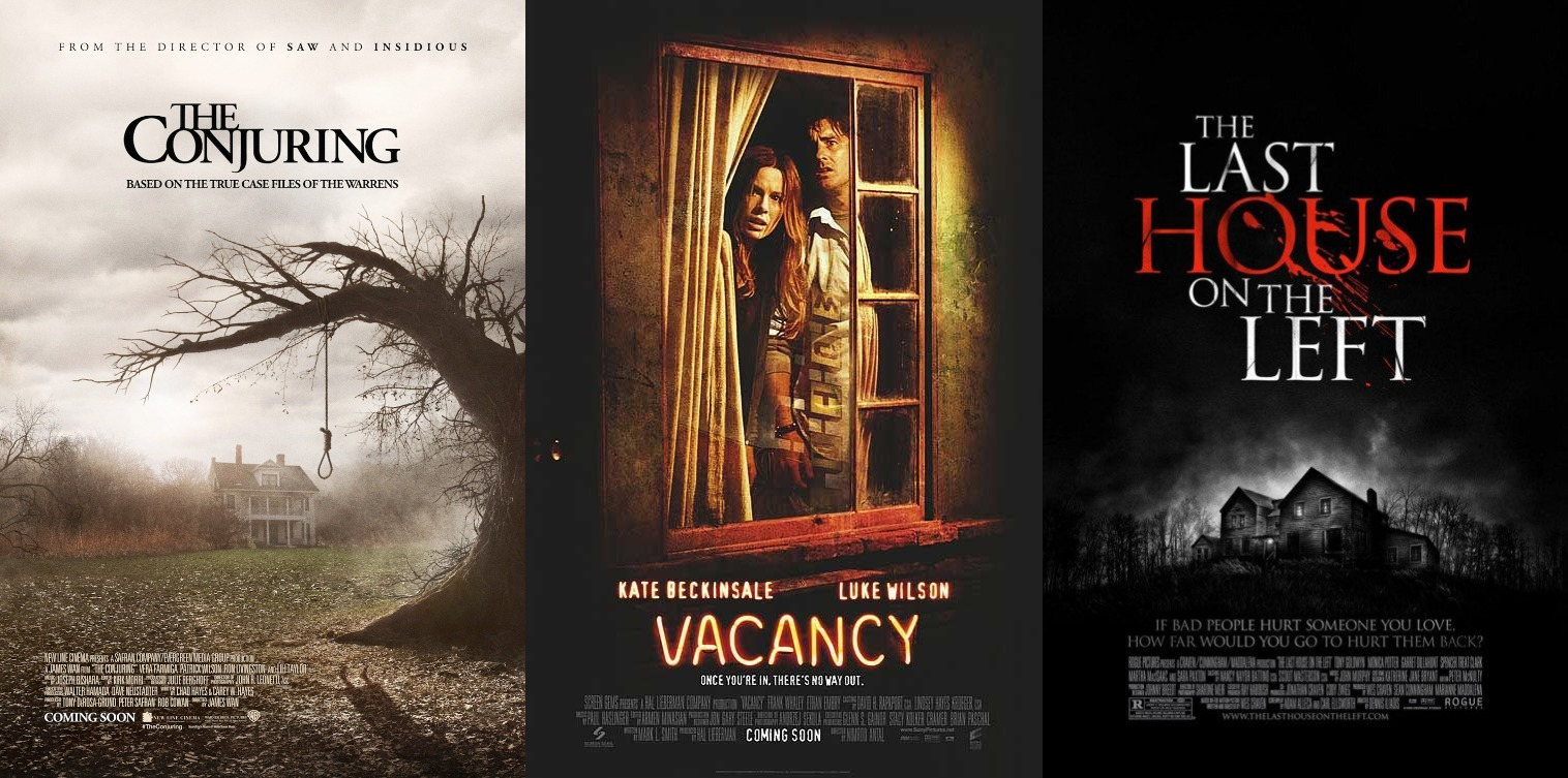 What I've Been Watching In: October (Halloween Edition) Movie Review The Conjuring Vacancy The Last House on the Left