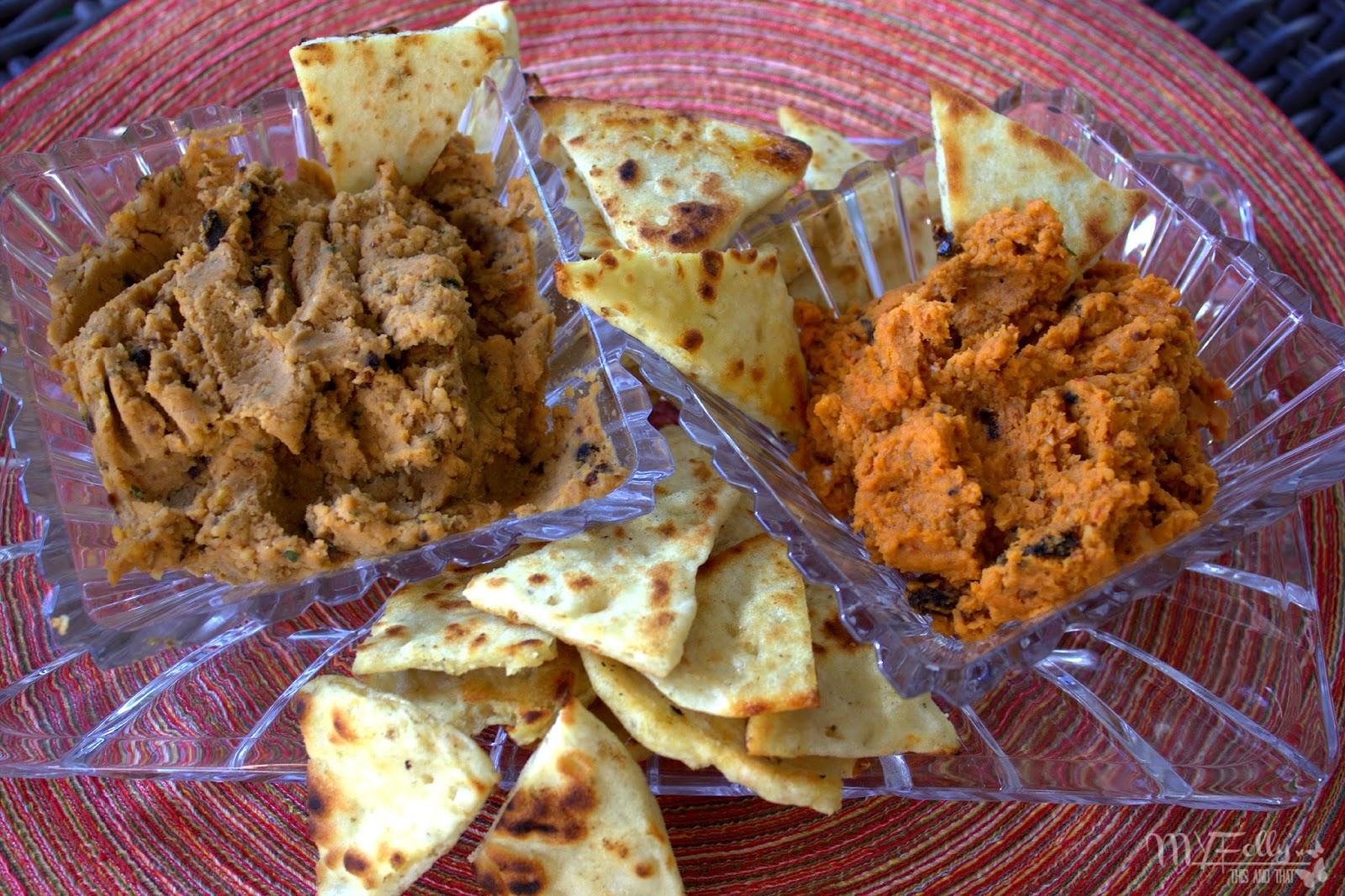 Pita and Hummus/This and That #hummus #Garbanzo Beans #vegetarian