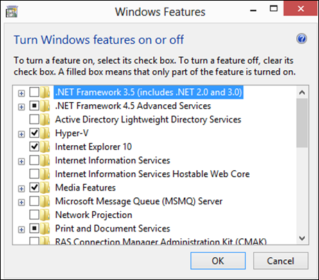 How To Activate .NET Framework 3.5 on Windows 8 Without Internet Connection
