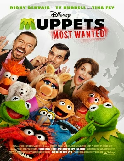 Ver Muppets 2 Los más buscados (Muppets Most Wanted) (2014) Online