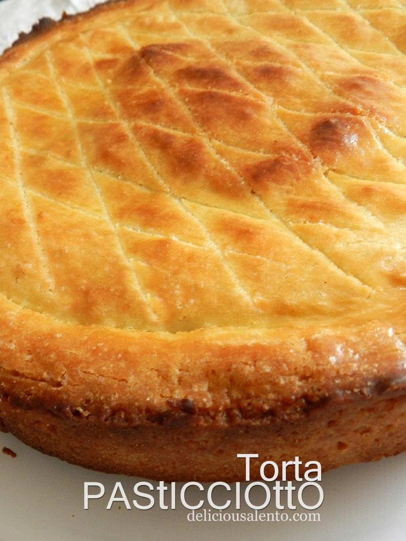 Ricetta torta pasticciotto con il bimby