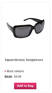 La Vie En Rose Squarelicious sunglasses