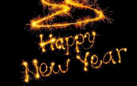 Gambar Kata Ucapan Selamat Tahun Baru 2015 Happy New Year Kembang Api