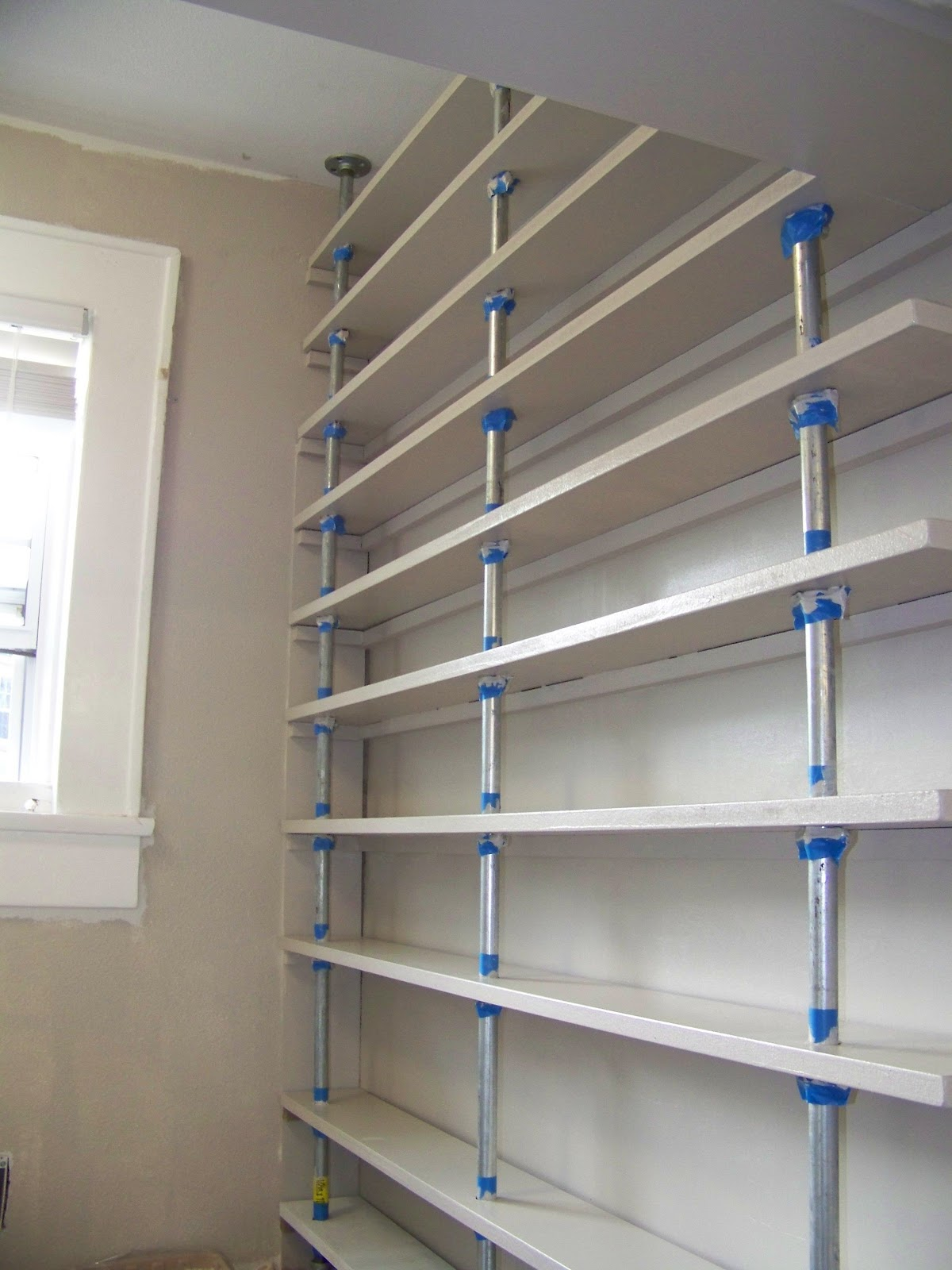 Seesaws and sawhorses pantry shelves done solutioingenieria Image collections