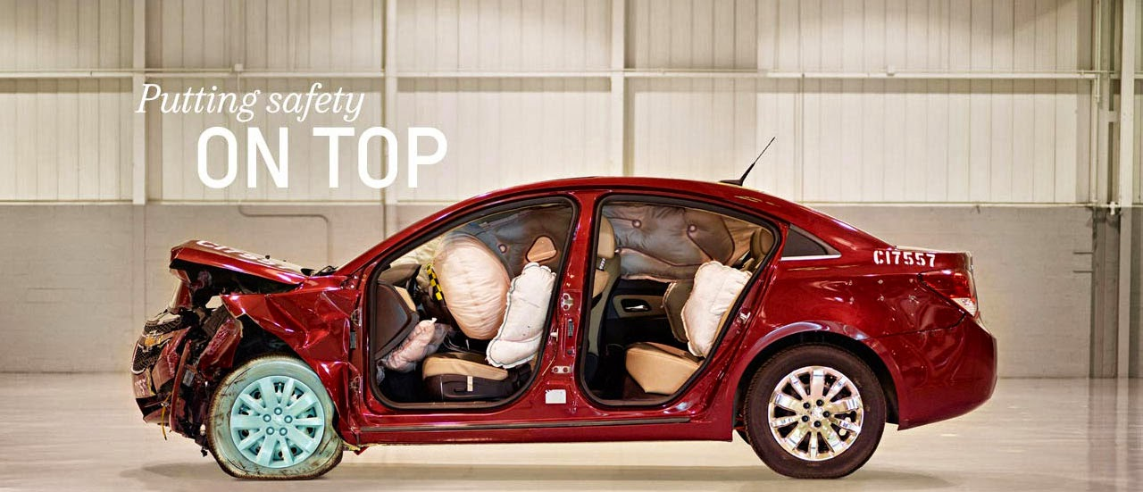 4 Chevrolet VehiclesNamed IIHS Top Safety Picks for 2015