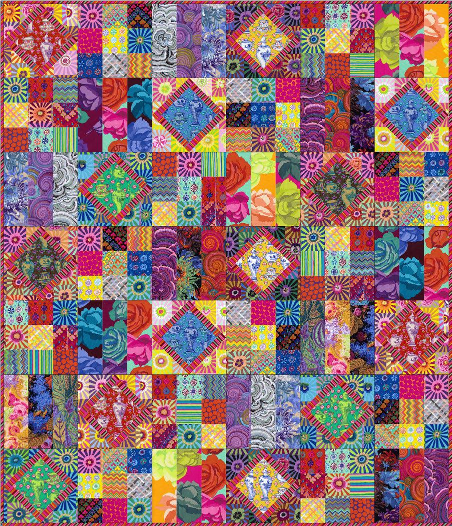 free pattern! Kaffe Fassett