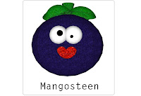Mangosteen  Flashcard