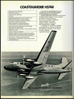 Hawker Siddeley Aviation, 1974. década de 70. os anos 70; propaganda na década de 70; Brazil in the 70s, história anos 70; Oswaldo Hernandez;