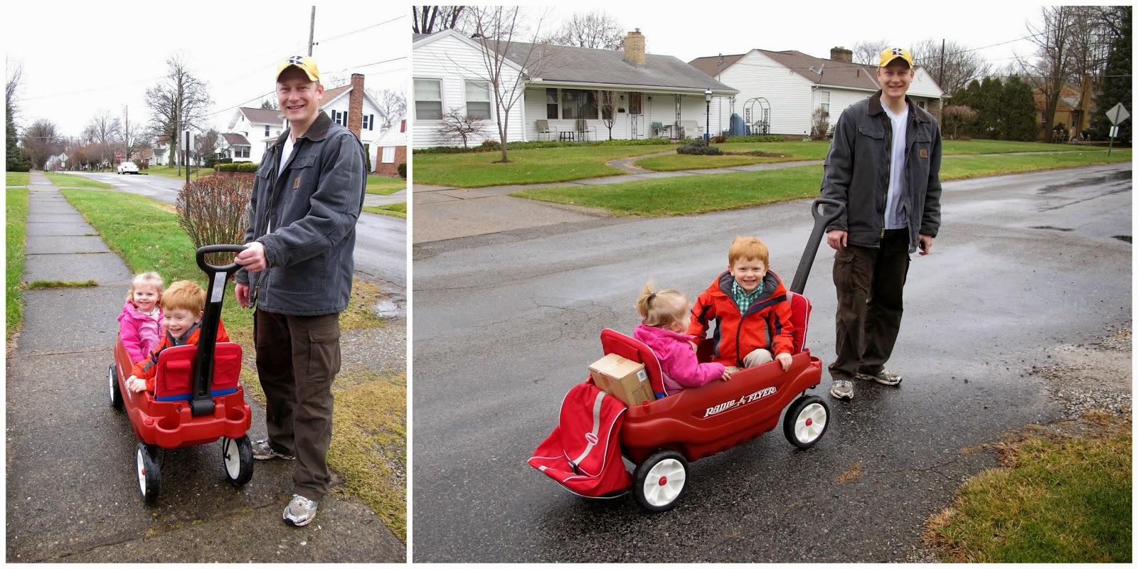 Wagon Ride through the Neighborhood