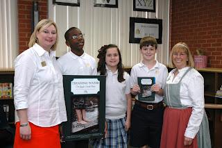 Montgomery Catholic Welcomes Children's Author B. Coyne 1