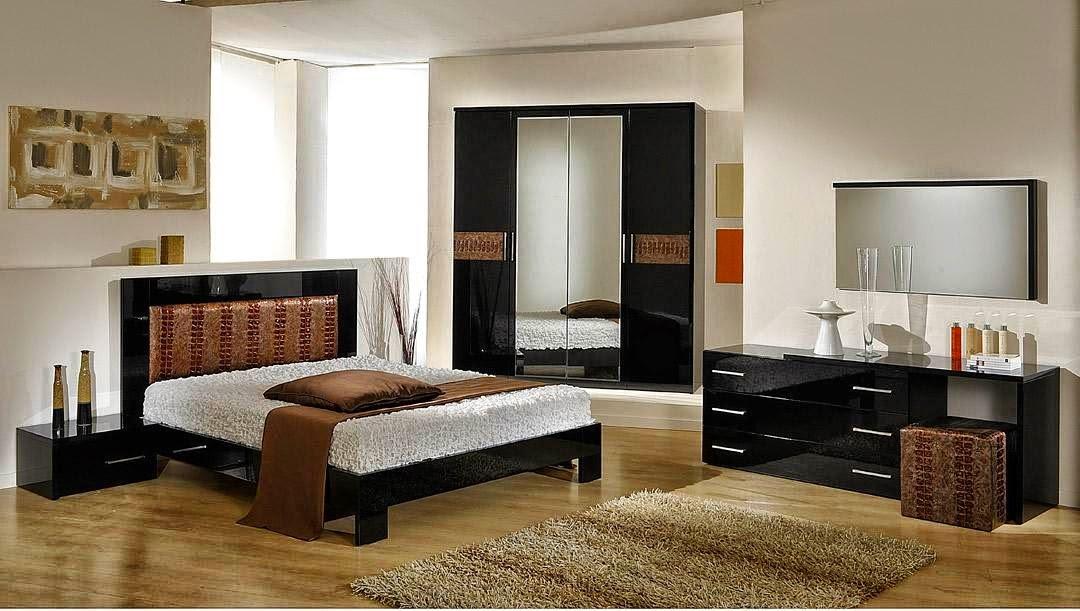Petite chambre moderne for Petite chambre adulte