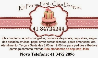 kit Festas Fabi - Guaratuba - Pr      (41 34724244)