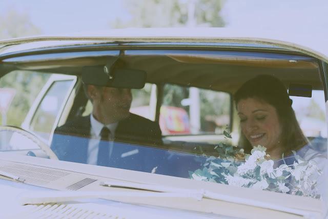 vintage car wedding kyneton