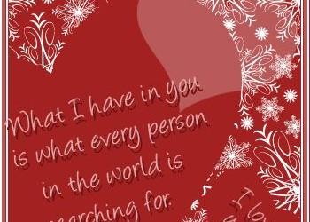 romantic winter quotes