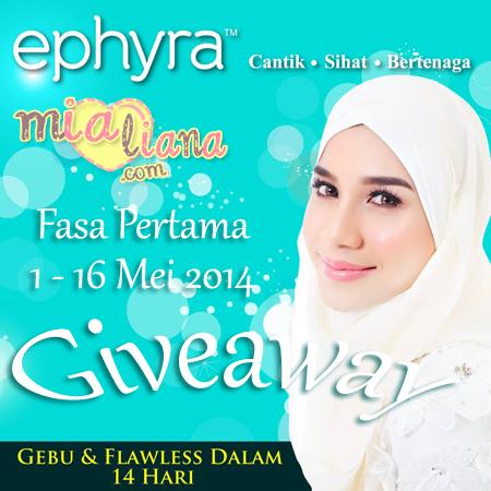blog mialiana, blogger mialiana, GA mialiana, giveaway 2014, hadiah giveaway, Ephyra, ephyra oceanlife,