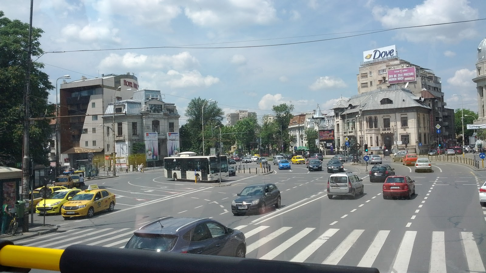 Piata Romana - rond