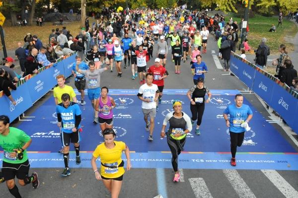 2015 NYC Marathon runners