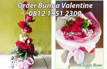 Jual Bunga Valentine di Jakarta
