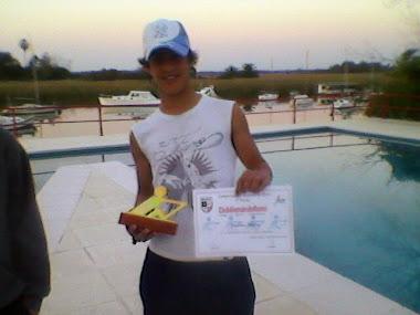 setiembre 2010 premiaciones en Club Aleman de Remo