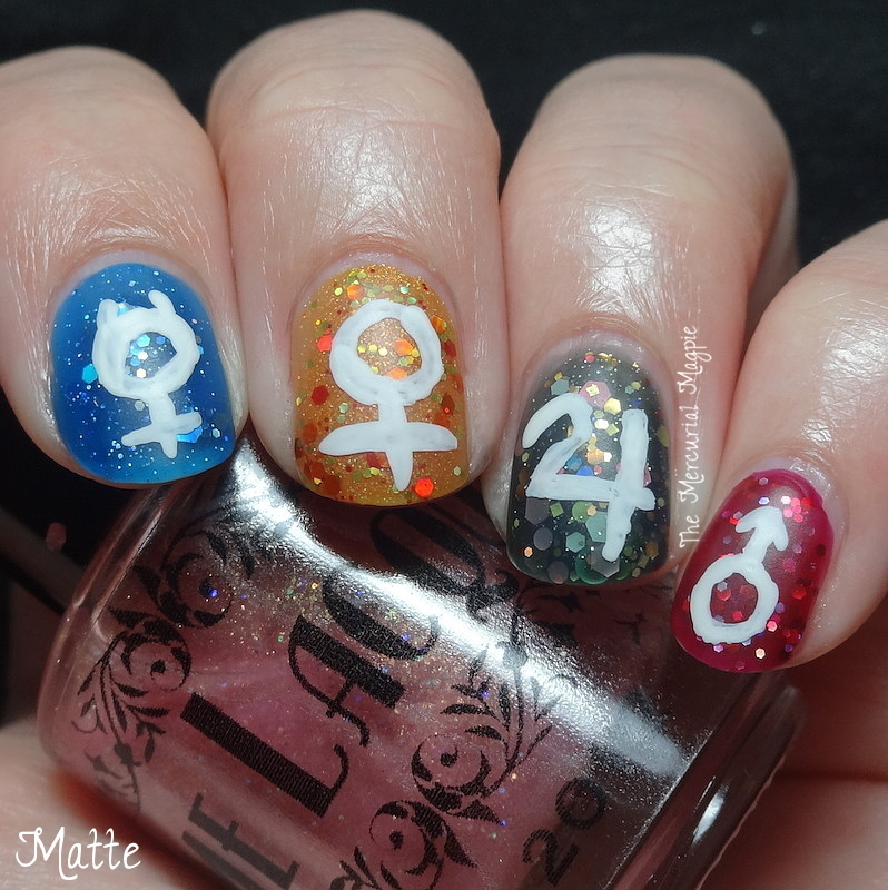 Sailor Moon Nail Art