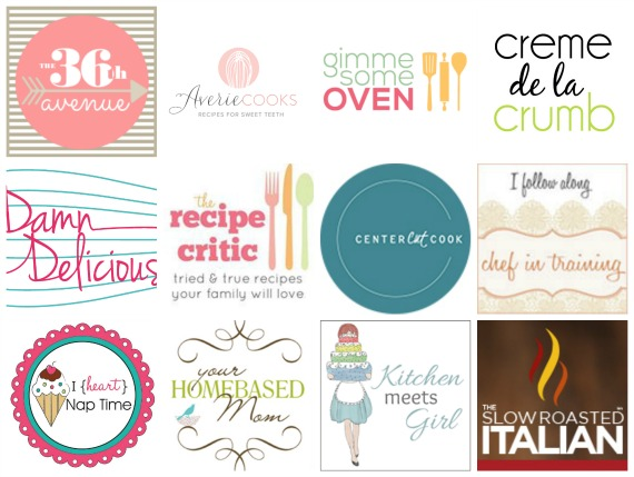 Bloggers logos collage