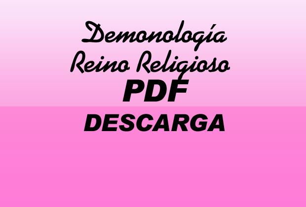 Demonología Reino Religioso PDF