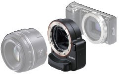 sony nex la-ea2 lens adapter