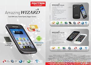 Harga Polytron Wizard W1350 Spesifikasi 2012