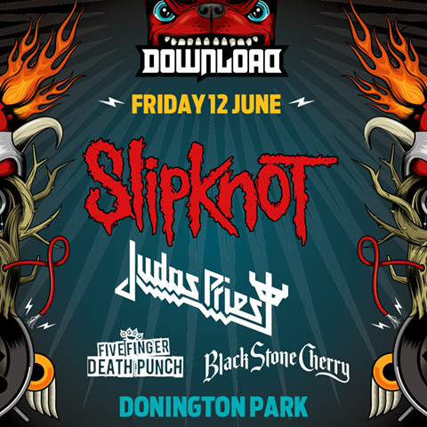 Slipknot and Judas Priest Download Festival 2015