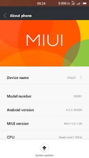 Custom Rom MIUI 6 for Oppo Yoyo R2001