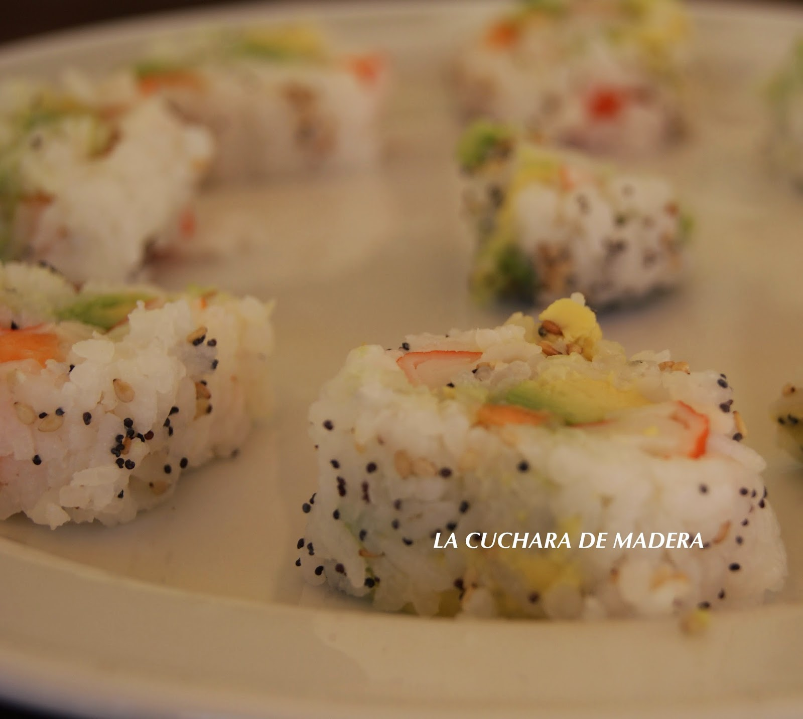 La cuchara de madera arroz para sushi for Como hacer arroz para sushi