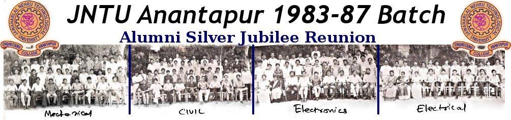 JNTU Anantapur 1983-87 batch