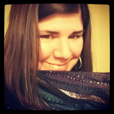 Sears, Style Surprise, Scarf, Sparkle