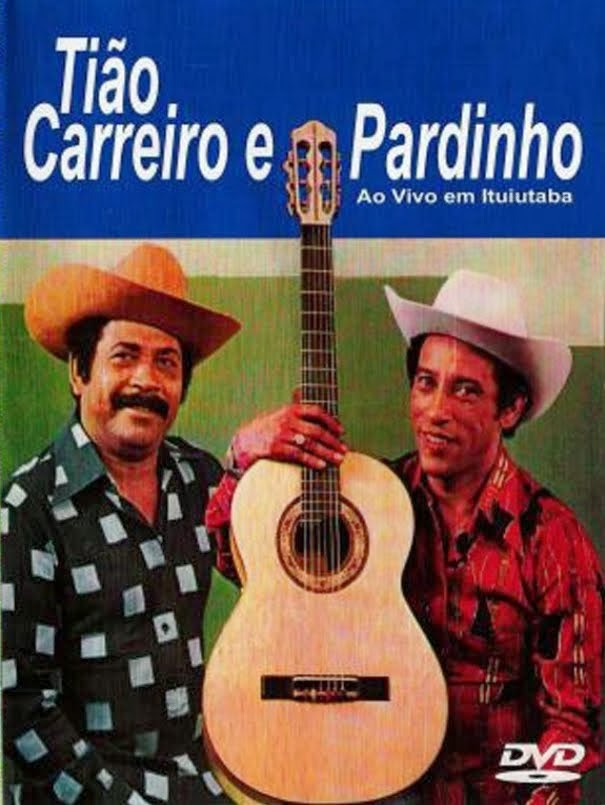 DVD Tião Carreiro e Pardinho - Ao Vivo em Ituiutaba MG