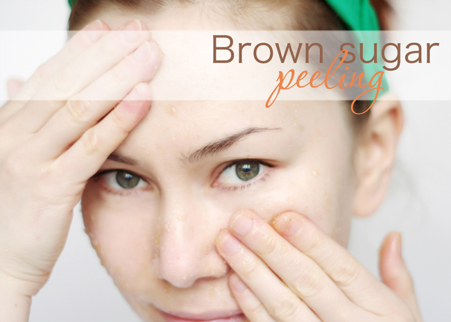 Beauty tip-brown sugar peeling. Blogged and photographed by Xenia Kuhn for fashionrolla.com