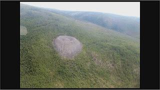 Cráter Patomskiy, Siberia Rusia, causado por posible impacto Ovni