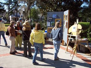 Art Exhibit and Sale with Live Music on the Fountain Plaza
